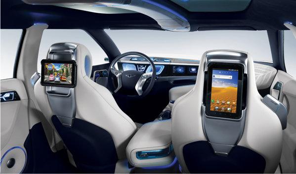 Unele dintre tehnologiile de pe Hyundai Blue2 urmeaza sa fie implementate pe modelele de serie