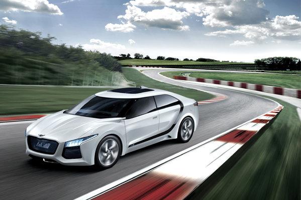 Hyundai Blue2 Concept beneficiaza de un sistem de propulsie pe hidrogen, cu pile de combustibil