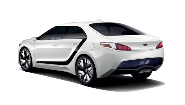 Desi initial da impresia ca ar fi o masina in trei volume, Hyundai Blue2 are, de fapt, hayon
