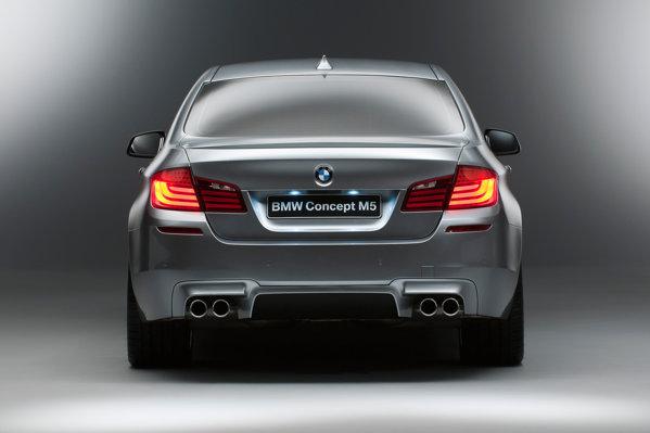 BMW M5 Concept va avea premiera mondiala la Salonul Auto Shanghai 2011