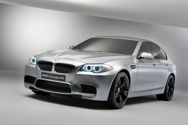 BMW M5 Concept prefigureaza cu fidelitate modelul de serie din 2012