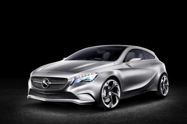 Mercedes-Benz A-Class Concept prefigureaza noua generatie de clasa compacta A-Class