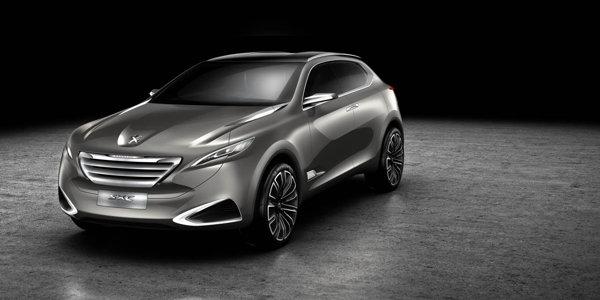 Peugeot SXC Concept este un crossover conceput in studioul de design Peugeot din China