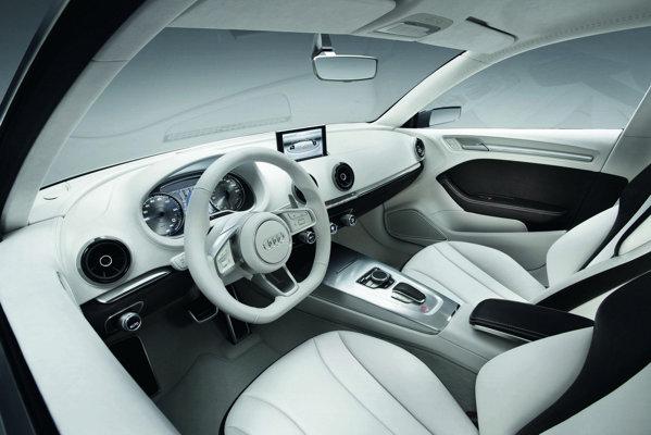 Audi A3 Sedan e-tron aduce nou functia MMI Touchpad a sistemului multimedia