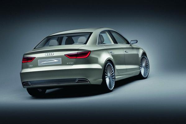 Audi A3 Sedan e-tron Concept - propulsie hibridă cu motor 1.4 TSI de 211 CP si unul electric de 27 CP