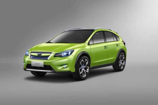 Subaru XV Concept prefigureaza cel mai mic crossover Subaru Impreza XV