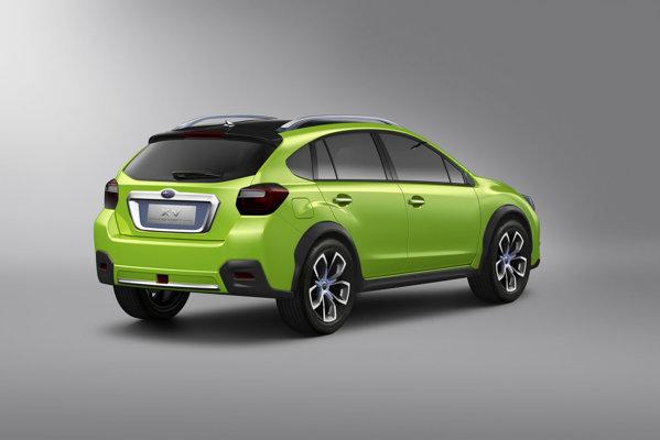 Subaru XV Concept are un stil de crossover capabil de multe escapade si aventuri