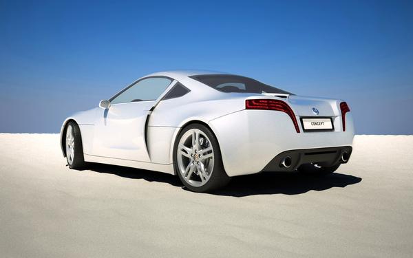 Blocurile optice ale conceptului Volkswagen sunt de inspiratie Audi