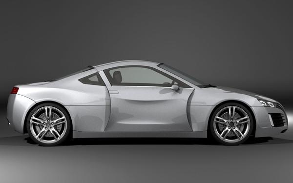 Volkswagen Sports Car Concept vine cu o idee controversata pentru portiere