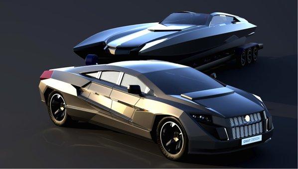 Dartz Sportback este proiectul unei superlimuzine blindate de 2.000 CP