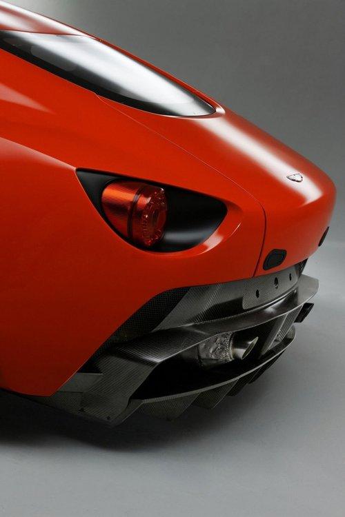 Aston Martin V12 Zagato va participa la cursa de 24h Nurburgring