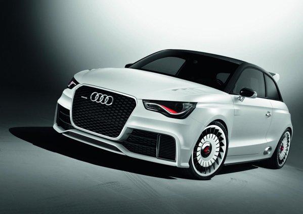 Audi A1 Clubsport quattro are o masa proprie de 1.390 kg, cutie manuala cu 6 trepte si quattro