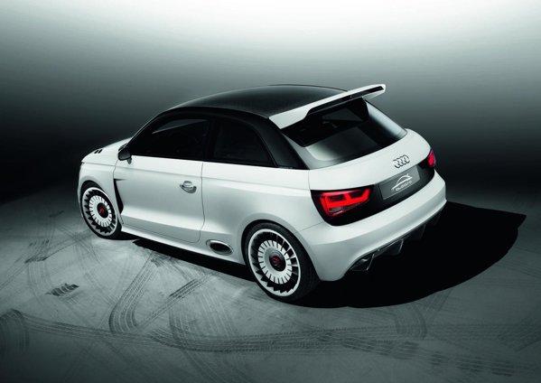 Audi A1 Clubsport quattro are jante de 19 inch cu un design de tip turbina