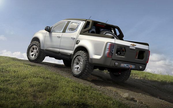 Chevrolet Colorado Rally Concept beneficiaza de accesorii interesante si foarte utile
