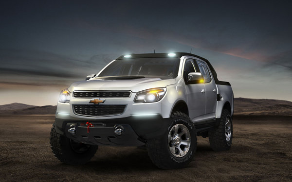 Chevrolet Colorado Rally Concept are jante de 18 inch si amortizoare reglabile