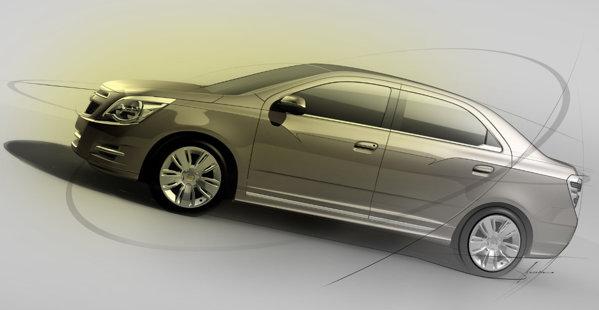 Modelul de serie Chevrolet Cobalt va ajunge si pe pietele europene