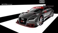 Deocamdată schiţe oficiale: Audi A5 DTM Concept