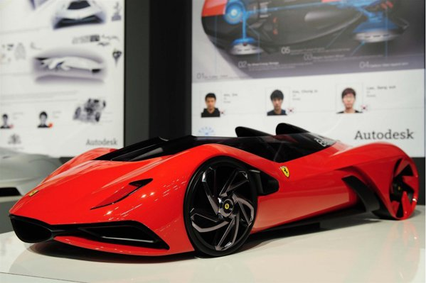 Ferrari Eternita, creatia coreenilor de la Universitatea Hongik din Seoul