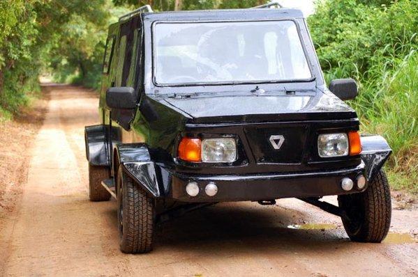 Mobius One este prototipul primei masini concepute in Africa pentru africani