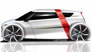 Schiţele conceptului Audi urban de la Frankfurt 2011