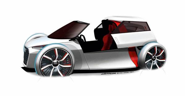 Deocamdata, conceptul Audi care va aparea la Frankfurt 2011 nu are un nume definitiv