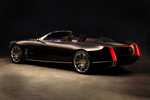 Cadillac Ciel are un stil modern si masiv, aducand in actualitate Caddy-urile de alta data