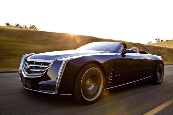 Cadillac Ciel Concept a fost prezentat in premiera mondiala la Pebble Beach 2011