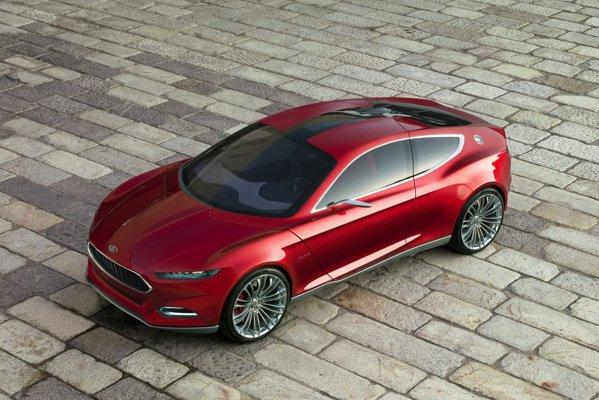 Ford Evos concept este un coupe fastback de clasa medie, cu o lungime de 4,5 metri