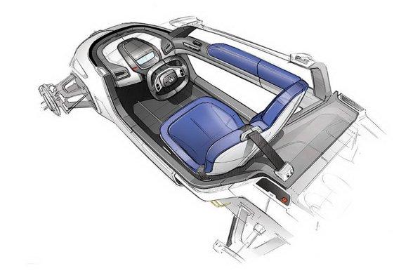 Volkswagen NILS oferta spatiu pentru un pasager si o autonomie de maximum 65 km