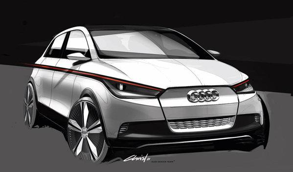 Conceptul Audi A2 prefigureaza o masina electrica de serie