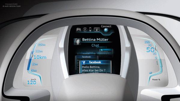 Audi A2 promite un nou sistem de comunicare la bordul masinii