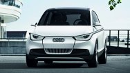 Primele imagini reale cu Audi A2 Concept, rivalul lui BMW i3