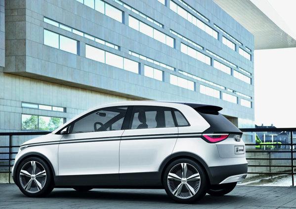 Audi A2 Concept pare versiunea monovolum a lui Audi A1