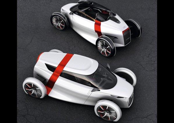 Noua pereche de concepte Audi pentru Frankfurt 2011: Urban Sportback si Spyder