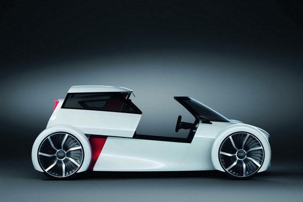 Audi Urban Concept are doar 480 kg, gratie utilizarii intensive a CFRP