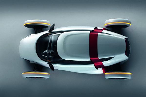 Audi Urban Concept are rotile in afara caroseriei, ca la monoposturile de alta data