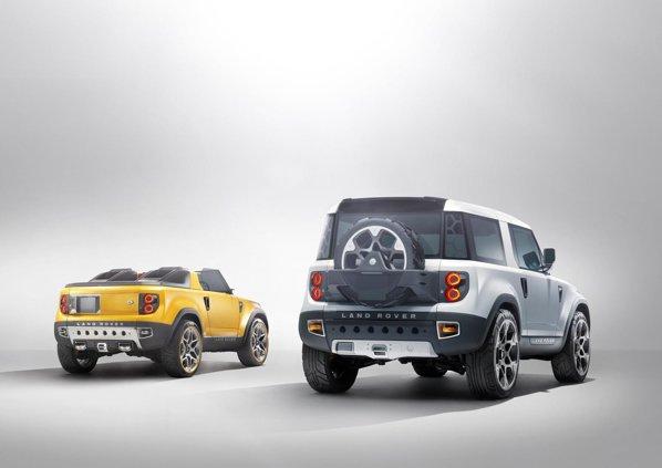 Land Rover DC100 va ajunge in productia de serie in 2015