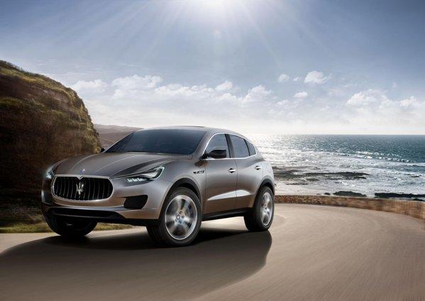 Maserati Kubang prefigureaza un SUV de lux, bazat pe Jeep Grand Cherokee