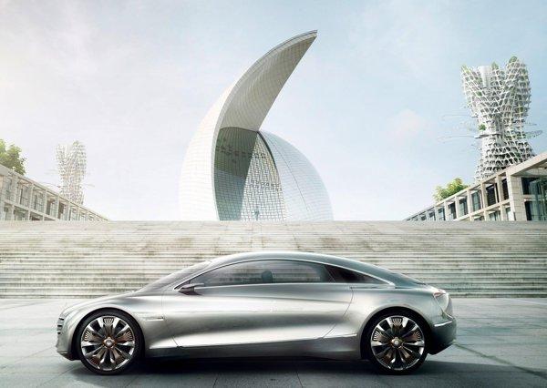 Mercedes Benz F125 promite o autonomie totala de 1.000 km si un consum scazut de hidrogen