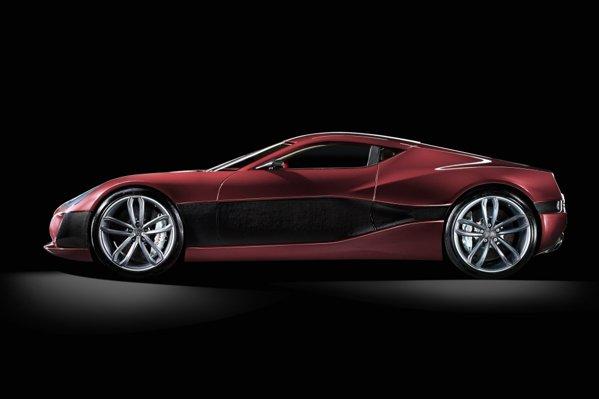 Rimac Concept One are 4 motoare electrice de 1.088 CP si un sistem sofisticat de tractiune integrala