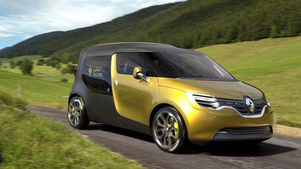 Renault Frendzy Concept debutează la Frankfurt 2011