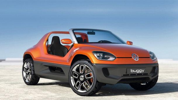 Volkswagen Buggy Up! Concept agită apele la Frankfurt 2011