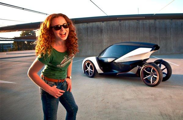 Opel RAK e Concept e dedicat in principal tinerilor adolescenti