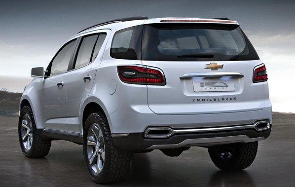 Chevrolet Trailblazer se bazeaza tehnic pe modelul pick-up Colorado