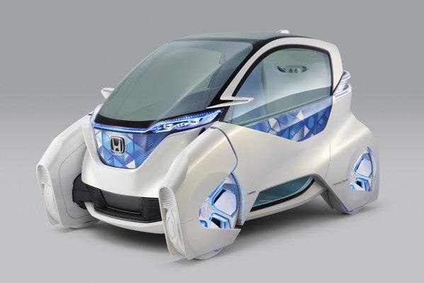 Honda Micro Commuter Concept are un aspect cu adevărat futurist