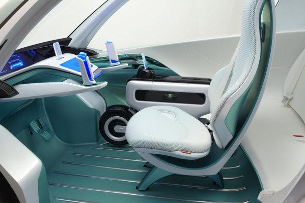 Honda Micro Commuter Concept ofera maximum 3 locuri si multe gadgeturi
