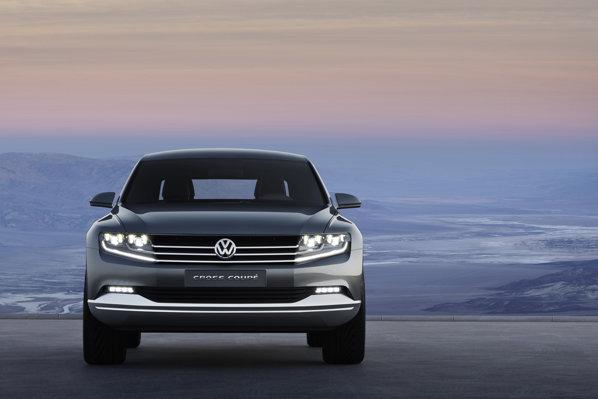 Conceptul Volkswagen Cross Coupe este primul realizat pe noua platforma MQB