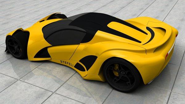 Stefeli Kydon se doreste o masina sport puritana, cu propulsie hibrida