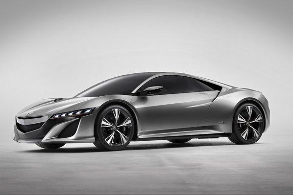 Honda NSX este prefigurata de noul concept Acura NSX, la Detroit 2012