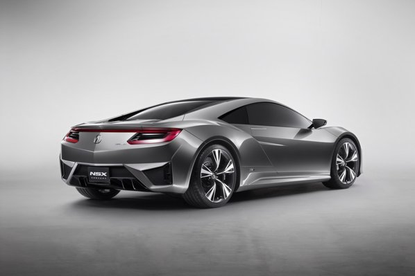Acura NSX are sistem de propulsie hibrid Sport Hybrid SH-AWD